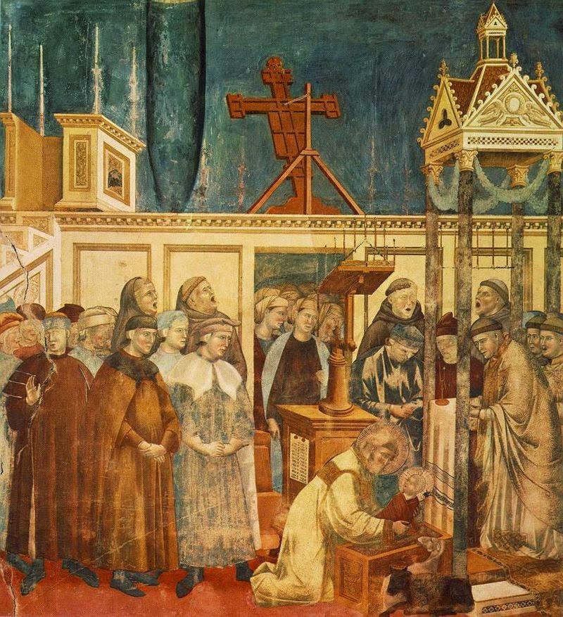 Institución del Belén en Greccio (Francisco de Asís)